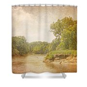 Water Works #1 Shower Curtain