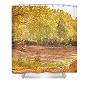 Water Works #3 Shower Curtain