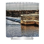 Water Works Gazebo Shower Curtain