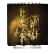 Waterboy As The Buddha Shower Curtain