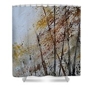 Watercolor 010104 Shower Curtain