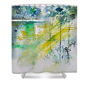Watercolor 010105 Shower Curtain