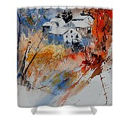 Watercolor  011012 Shower Curtain