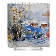 Watercolor  011020 Shower Curtain