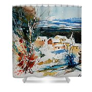 Watercolor  011040 Shower Curtain