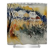 Watercolor  011071 Shower Curtain