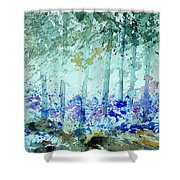 Watercolor  011105 Shower Curtain