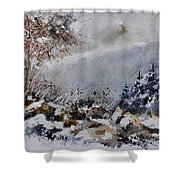 Watercolor 011120 Shower Curtain