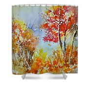 Watercolor 011121 Shower Curtain