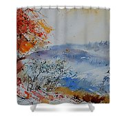 Watercolor  012060 Shower Curtain