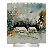 Watercolor 012102 Shower Curtain