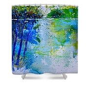 Watercolor 012112 Shower Curtain