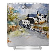 Watercolor 015022 Shower Curtain