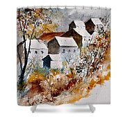 Watercolor 015032 Shower Curtain