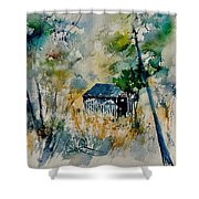 Watercolor 015042 Shower Curtain