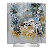 Watercolor 015060 Shower Curtain
