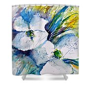 Watercolor 017070 Shower Curtain