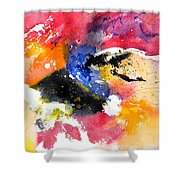 Watercolor 017081 Shower Curtain