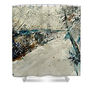 Watercolor 018001 Shower Curtain