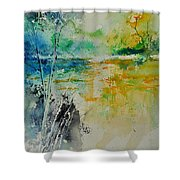 Watercolor 018080 Shower Curtain