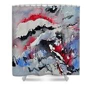 Watercolor 0410563 Shower Curtain