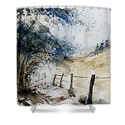 Watercolor  061106 Shower Curtain