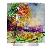 Watercolor  100507 Shower Curtain