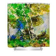 Watercolor 111061 Shower Curtain