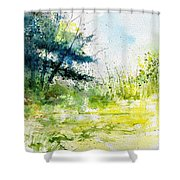 Watercolor 111141 Shower Curtain