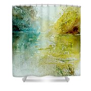 Watercolor  111207 Shower Curtain