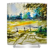 Watercolor 112040 Shower Curtain