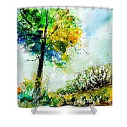 Watercolor 114062 Shower Curtain