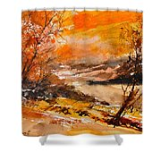 Watercolor 115011 Shower Curtain