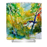 Watercolor 115021 Shower Curtain