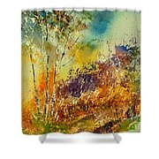 Watercolor 115060 Shower Curtain
