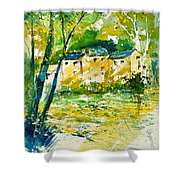 Watercolor 115080 Shower Curtain