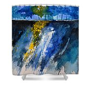 Watercolor 119001 Shower Curtain