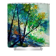 Watercolor 119042 Shower Curtain