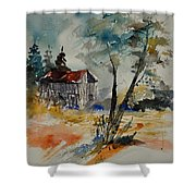 Watercolor 119070 Shower Curtain