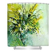 Watercolor  120406 Shower Curtain