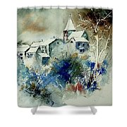 Watercolor  140408 Shower Curtain