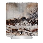 Watercolor  150708 Shower Curtain
