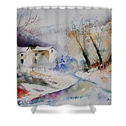 Watercolor 15823 Shower Curtain