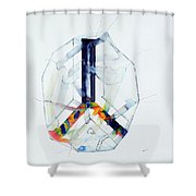 Watercolor 16 Shower Curtain