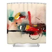 Watercolor 17 Shower Curtain
