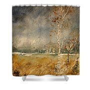 Watercolor  190307 Shower Curtain