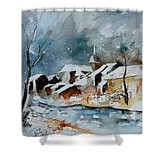 Watercolor  190607 Shower Curtain