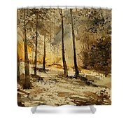 Watercolor  191106 Shower Curtain