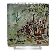Watercolor 200307 Shower Curtain