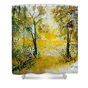 Watercolor 210108 Shower Curtain by Pol Ledent
